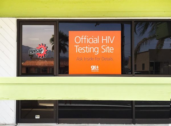 HIV Testing Sign