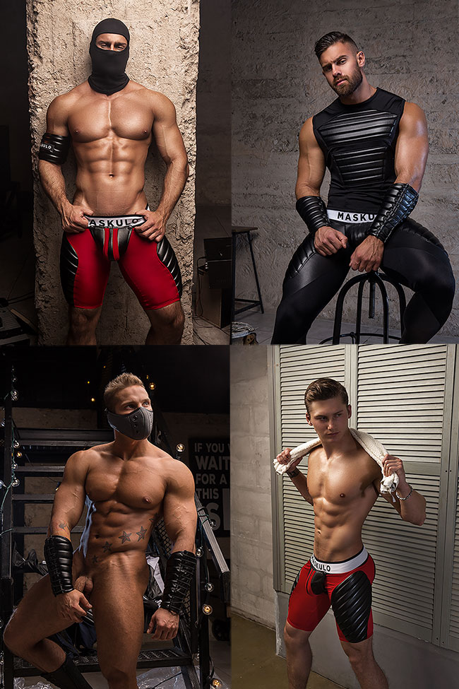 Maskulo Gear Collage