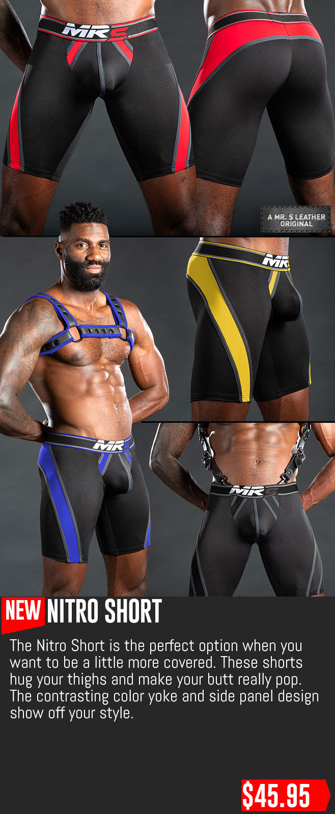 Nitro Short by Mr. S Leather
